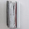"""""""Kabbala"""",  books, zinc, fabrics, acrylic, 2007    €     550"""