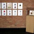 "Installation ""Abu Ghureib Paperdoll"" 10x30x40, showcase, € 1.800"