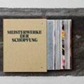 """""""Meisterwerke der Schöpfung"""" Book, zinc, magazine, cancas, 49x40x15, signed,2010 ,  €  800"""