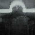 'Schwingungen III', 200x150cm, graphite, acrylic, canvas, signed 1990, price on request