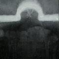 'Schwingungen III', 200x150cm, graphite, acrylic, canvas, signed 1990, price on request