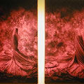 Wrapping, c-prints,canvas,2x80x120cm, signed,  2004, € 4.000 each