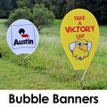 Bubble double banners