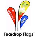 Tear Drop Flag