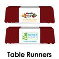 Table runners custom printed