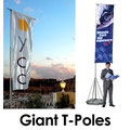 Giant T-Flags