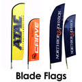 Blade Feather Wing Flag