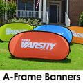 Pop-Screen A-Frame Banners