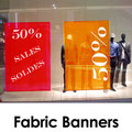 Point of Purchase Vertical Banners Kakemonos
