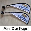 Mini Car Teardrop Flags