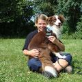Bailey und ich (beide glücklich)