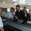 الرئيس الأسد يتققد المدينة الصناعية في الشيخ نجار شمالي مدينة حلب - 17.07.2004