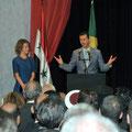 السيد الرئيس بشار الأسد يلتقي والسيدة عقيلته الجالية السورية في البرازيل - 01.07.2010