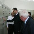 السيد الرئيس بشار الأسد يدشن  المرحلة الاولى من المشروع الرابع لجر مياه نهر الفرات الى مدينة حلب - 17.07.2004