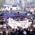 الشعب السوري ينتفض ضد الحرب على العراق الشقيق - 20.01.2003