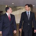 السيد الرئيس بشار الأسد يستقبل الملك عبد الله الثاني ملك المملكة الأردنية الهاشمية - 11.05.2009