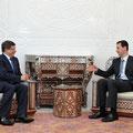 السيد الرئيس بشار الأسد يلتقي السيد أحمد داوود اوغلو وزير الخارجية التركي - 19.07.2010
