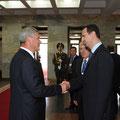 الرئيس الأسد يلتقي رئيسي البرلمان و المجلس الجمهوري البيلاروسيين - 27.07.2010