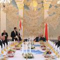 الرئيس البيلاروسي ألكسندر لوكاشينكو يقيم مأدبة عشاء على شرف السيد الرئيس بشار الأسد - 26.07.2010