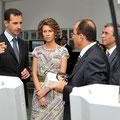 الرئيس الأسد يزور والسيدة عقيلته مدينة تكنولوجيا الاتصالات في العاصمة التونسية - 13.07.2010