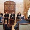 الرئيس الأسد يلتقي أعضاء المكتب التنفيذي لنقابة أطباء الأسنان - 06.01.2011