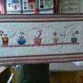 Camí de taula de patchwork. Anna Aldomà.