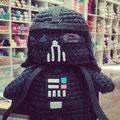 Amigurumi Darth Vader.