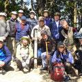 天王山山頂集合写真