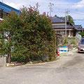 4 フルハウスの裏道(納屋側)です。納屋前にも駐車は可能です。
