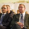 Vbgm. Bernhard Kuppek und Obmann Martin Steininger