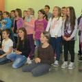 Jahreshauptversammlung des Elternvereins mit musikalischer Untermalung der 3. und 4. Klasse