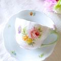彩色チャイナペインティング・オリジナルブーケ
