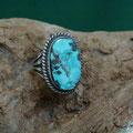 Persian Turquoise .   Ray Delgarito [ Navajo ]