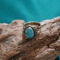 # 8 Turquoise [ Nevada ]  K14 Ring
