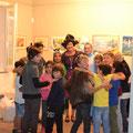"""Theaterstück """"Isegrim im Farbenland"""" zur Interkulturellen Woche von Schülern der Wusterhausener Grundschule am 28.09.2017"""