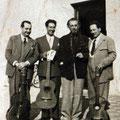 Junto a los hermanos Capaccio