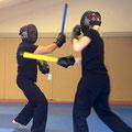 combat stick fighting