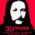 Psychetronica Tokyo - Christmas party - Artwork by DJ URI