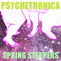 Psychetronica Tokyo - Spring Steppers - Artwork by DJ URI