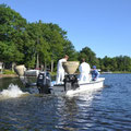 In June, 62 acres of milfoil was treated which was much less than in recent years.