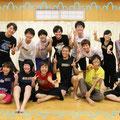 【001】2015/8/3 生徒役稽古初日。初めての集合写真!