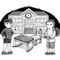 「九十九の学校」挿絵