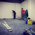 Unser erster Abend am Beerenweg: Baustellen-Minigolf!