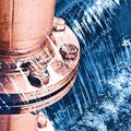 Wasserverband Süder-Dithmarschen: digitale Weiterentwicklung von Fotografien zu Wandbildern