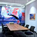 M+M Meichle + Mohr, Radolfzell: digitale Weiterentwicklung von Fotografien zu Wandbildern