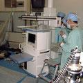 病院、手術室、医療機器