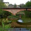 Frankfurt am Main - Bonames - Homburger Landstr. - Nebenarm der Nidda