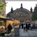 Frankfurt am Main - Bahnhofsviertel - Wochenmarkt - Kaiserstr. / Moselstr.