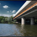 Frankfurt/M. - Griesheim/Schwanheim - Fußgänger/Fahrradbrücke
