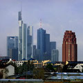 Frankfurt am Main - Oberrad - Skyline - Hotel Plaza